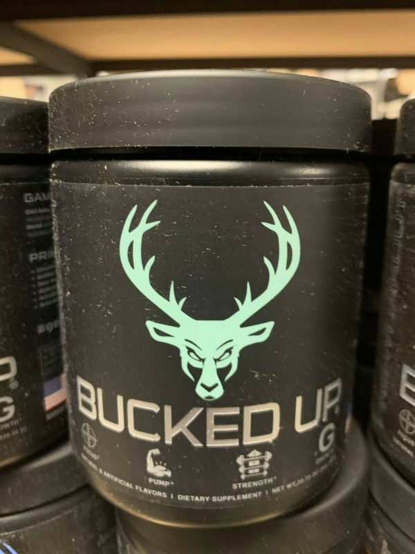 Bucked Up Pre-Workout 30 servings DAS Labs Pick Flavor Fast Free Shipping 4