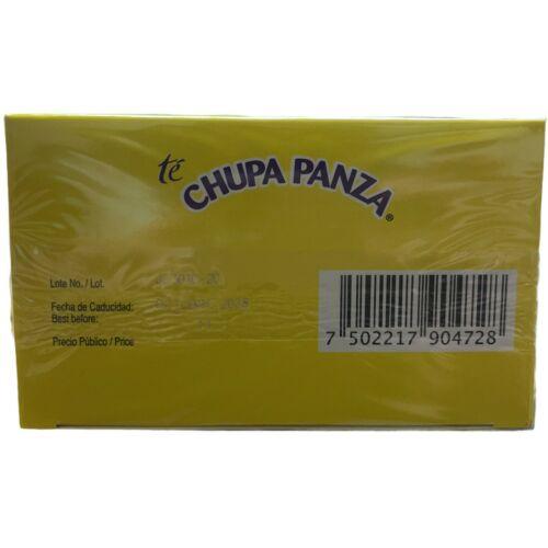 ORIGINAL‼️ 2 PACK Chupa Panza Detox Ginger Tea 60 Day Supply Te Chupa Pansa 5