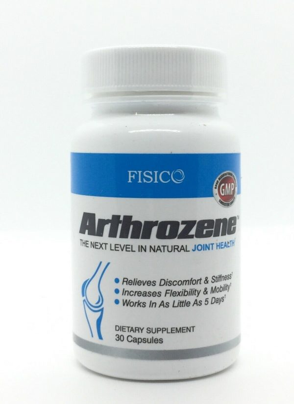 FISICO Arthrozene Powerful Joint Pain Relief Increases Flexibility and Mobility