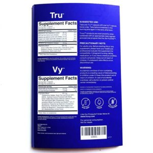 1 Week Truvy *TRUVISION NEW FORMULA* Tru +Vy Weight Loss Diet Supplement Combo 1