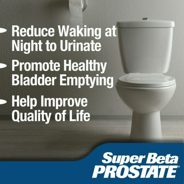 Super Beta Prostate Supplement -Reduce Frequent Urges to Urinate- NEW -FREE S&H 2