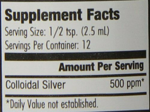 Natural Path Silver Wings Colloidal Silver Mineral Supplement, 500 Ppm, 1 Flu... 1