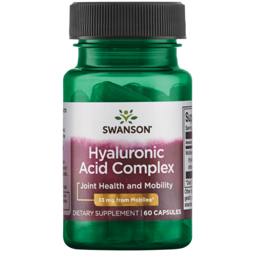 Swanson hyaluronic acid complex 33 mg 60 Capsules