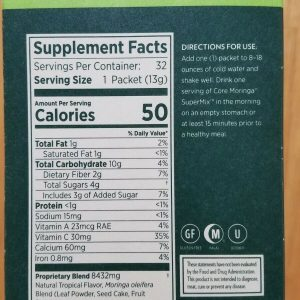 Zija SuperMix. Core Moringa Oleifera 32 Packets. New & Sealed 1