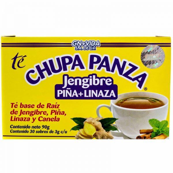 TEA CHUPA PANZA Jengibre, Pina, Linaza Te Ginger, Cinnamon Pineapple 30 Day 3