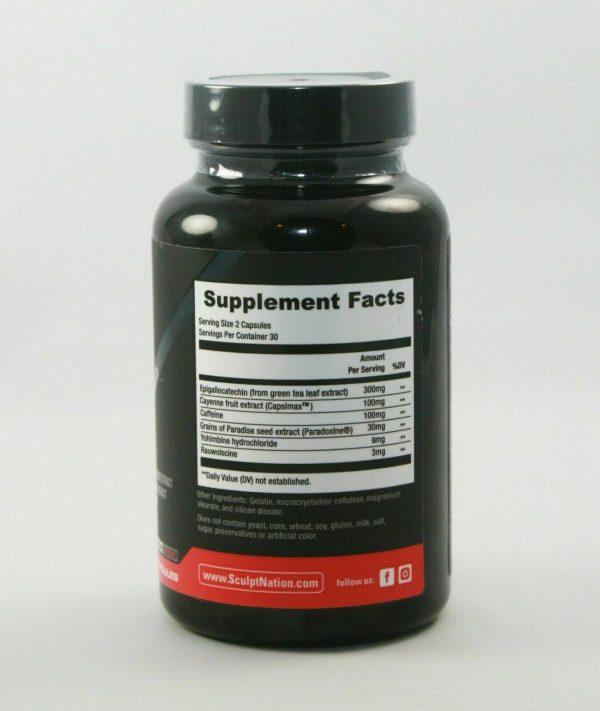 SCULPTnation BURN Thermogen Dietary Supplement 60 Capsules  1