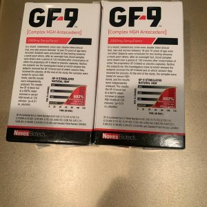 2 x Novex Biotech GF-9 Growth Factor 9 Supplement 168 capsules  Exp 5/2023 1