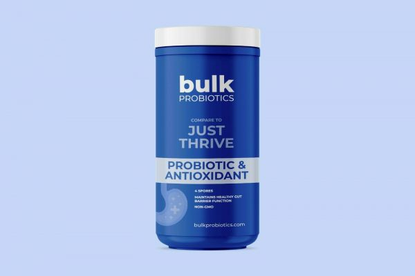 BULKPROBIOTICS Just Thrive Probiotic & Antioxidant 30 Capsules VEGAN 2