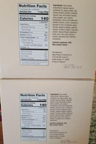 Ideal Protein Nachos Cheese Dorados Bundle 2 Boxes ⛟ SAME DAY SHIPPING 1