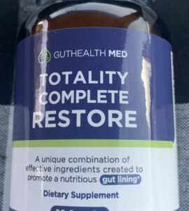 GUTHEALTH MED Totally Complete Restore for Gut Lining Support 90 Capsules