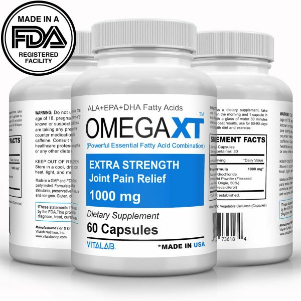 Official Omega XT Extra Strength Joint Support Omega-3 Joint Pain Relief 60ct 4