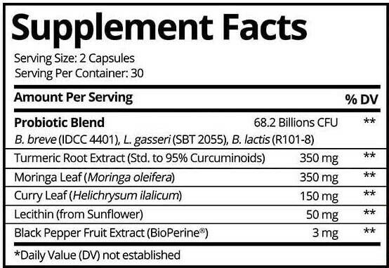 BULKPROBIOTICS Provitalize Probiotic for Weight Management & Sleep VEGAN 1