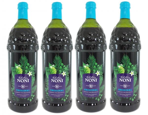 Tahitian Noni Juice by Morinda Inc. (4 bottle case) *NEW LOOK!* SALE PRICE! 3
