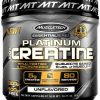 MuscleTech Platinum Creatine Monohydrate Powder, 100% Pure Micronized Creatin...