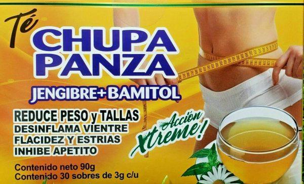 TE DE CHUPA PANZA TEA Jegibre + Bamitol 30 Bags (Accion Xtreme) Free Shipping 1