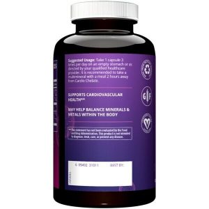 MRM Cardio Chelate with EDTA 180 Vegcapsules 1