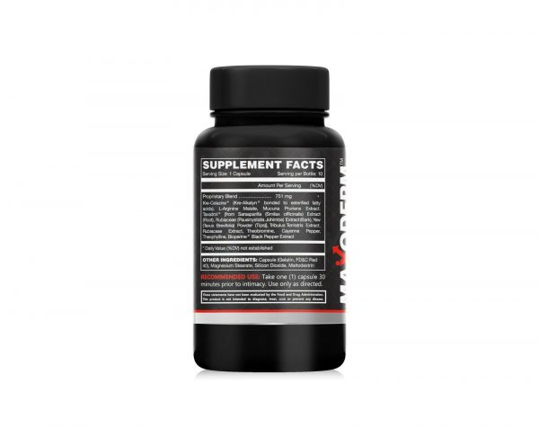 Maxoderm Power Surge Male Virility Surge Dietary Supplement 06 Capsules 1