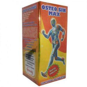 1X OSTEO SIN MAX ARTHRITIS 35 tabs ARTRITIS OSTEOPOROSIS HERNIA ARTICULACIONES