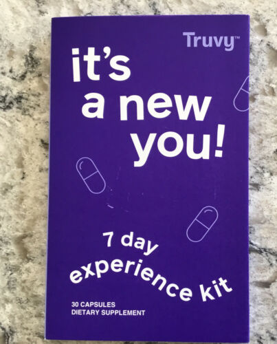 Truvy 7 Day Experience Kit ~ New ~ Sealed ~ 30 Capsules