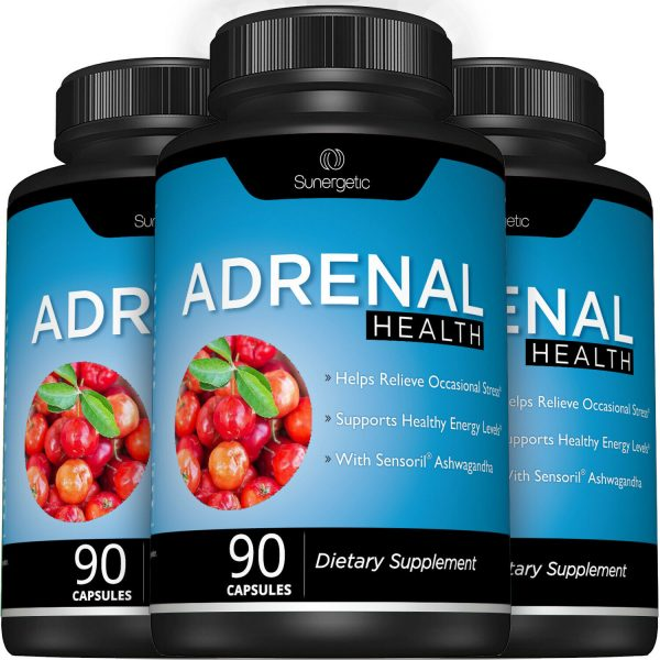 Adrenal Support Supplement - Supports Healthy Adrenal Function-90 Capsules 7