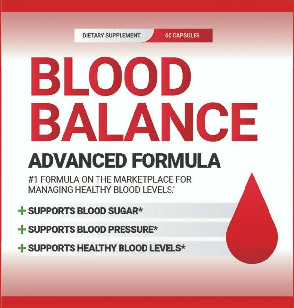 Blood Balance Formula New Sealed