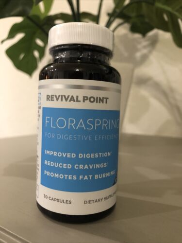 Revival Point Floraspring for Digestive Efficiency 30 Capsules - New Exp 02/2023