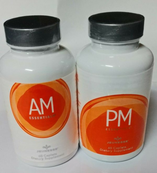 Jeunesse AM & PM Essentials 1 set (2 Bottles) Nutrigen multivitamin EXP 08/2022