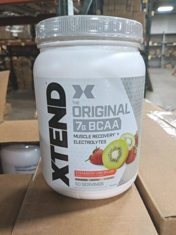 Scivation XTEND ORIGINAL 7G BCAA Muscle, Recovery 50 Servings, 4 FLAVORS - SALE 1