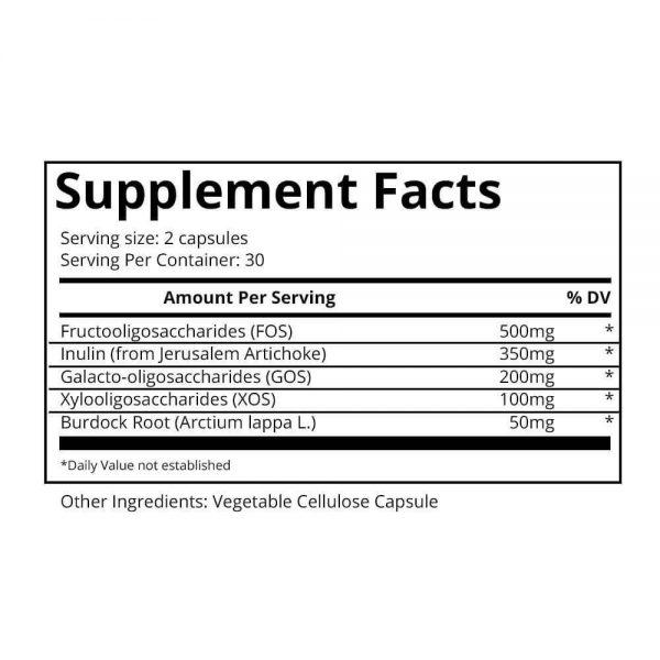 BULKPROBIOTICS Provitalize & Previtalize Probiotic + Prebiotic Weight Loss VEGAN 2