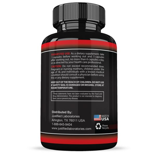 Nitric Oxide Xtreme 5000 Extreme L Arginine Increase Muscle Strength Pump Boost 3