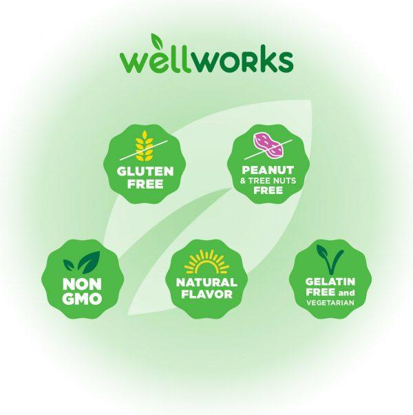 WellWorks Zinc Gummies 50 mg,  Great Tasting Natural Flavor, 90 Gummies 1