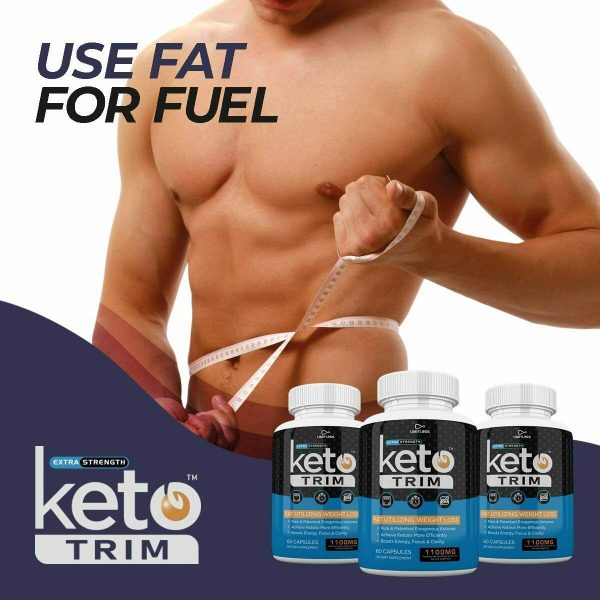 KETO TRIM EXTRA STRENGTH 3 MONTH SUPPLY **FAST SHIPPING** 5