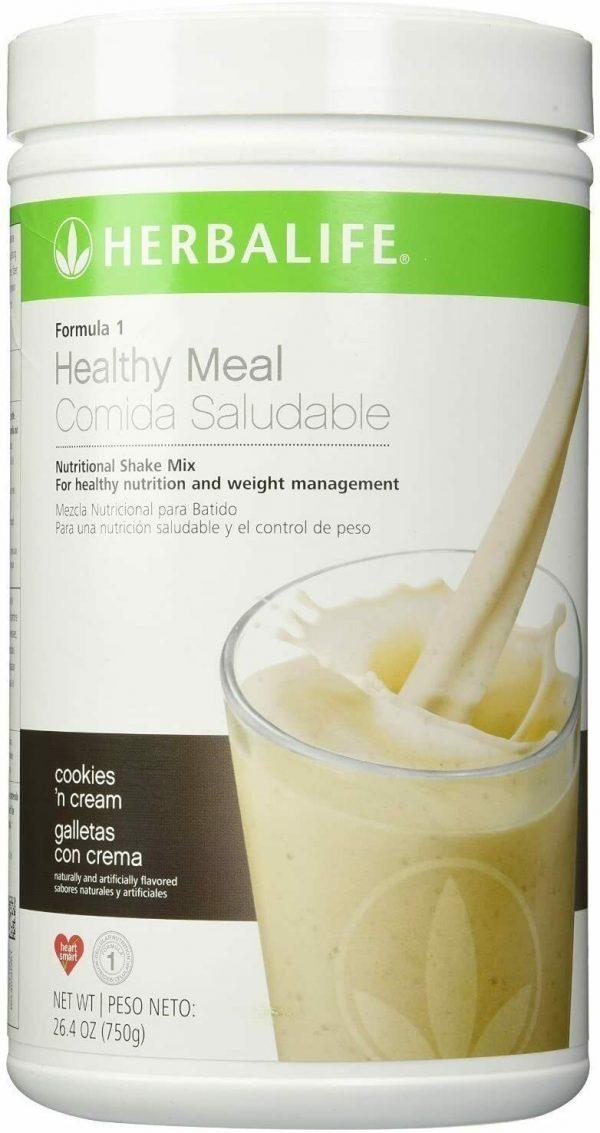 Herbalife Formula 1 - Nutritional Shake Mix, Cookies and Cream 750g