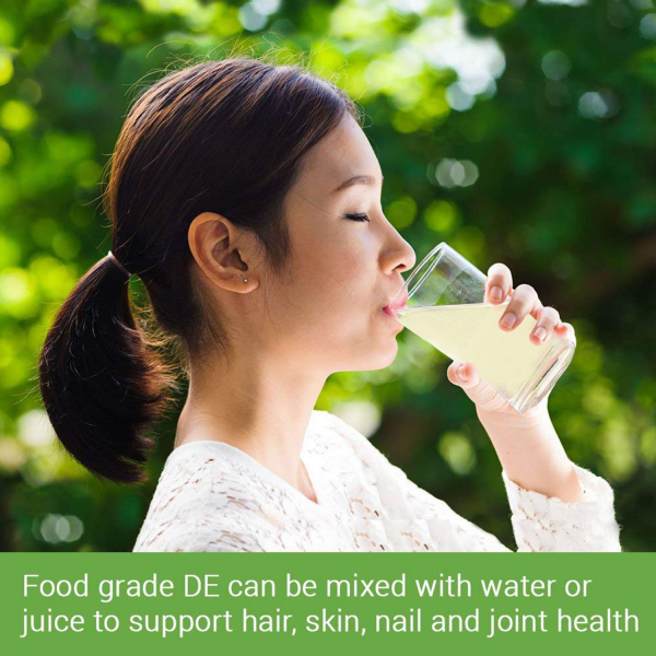 5 LBS Diatomaceous Earth - 100% Organic Food Grade Diamateous Earth Powder 4