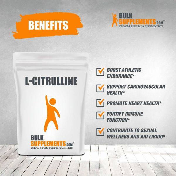 BulkSupplements.com L-Citrulline 5