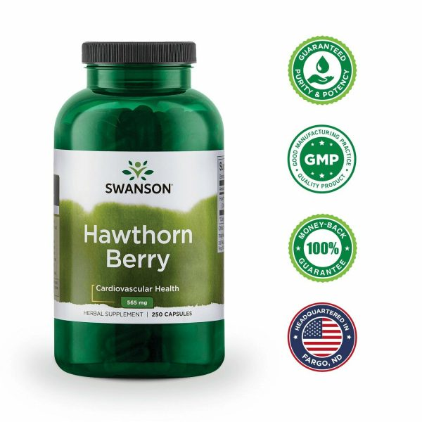 Swanson Hawthorn Berries Supplement | Supports Blood Pressure & Heart Health ... 6
