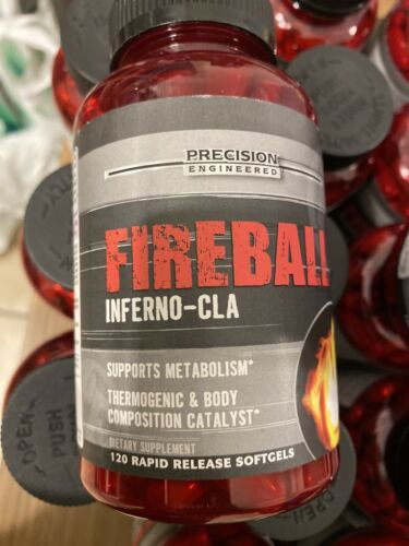 Precision Engineered Lot Of 2 Fireball Inferno-CLA 240 Rapid Release Softgels. 1