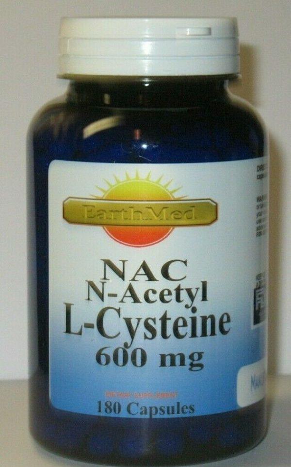 NAC N-Acetyl L Cysteine 600 mg - 180 Capsules  Freshest!