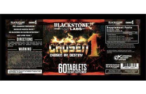 Blackstone Labs CHOSEN 1, Muscle Mass, Dry Lean Gains 60 Tablets 2