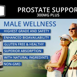Prostate Support - Saw Palmetto - Reduce Frequent Urination, Stamina supplement 9