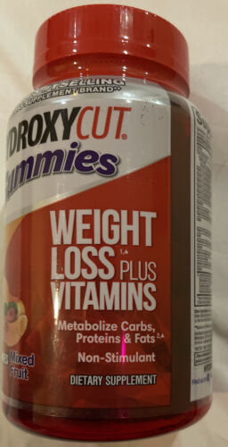 Hydroxycut Non-stimulant Weight Loss Gummies Mixed Fruit - 90 Count 1