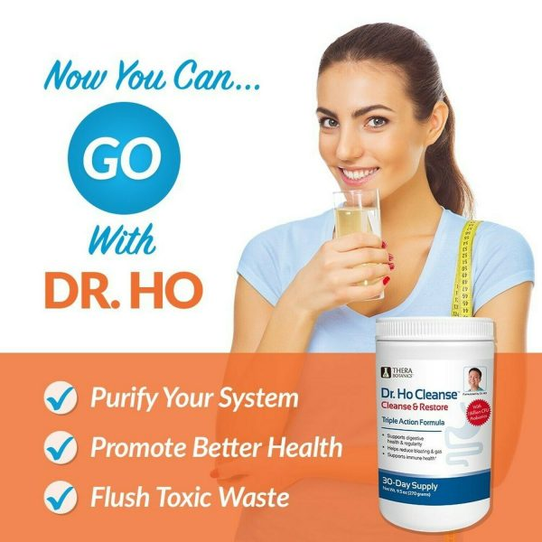 Dr. Ho Cleanse & Restore - Detox - Eliminate Built-Up Toxins and Waste 3