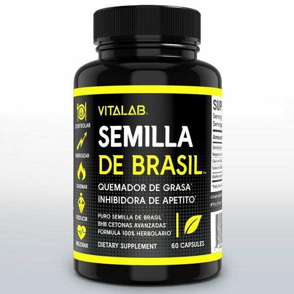 Semilla De Brasil Original Pastillas Para Bajar De Peso Semilla De Brazil 60ct 1