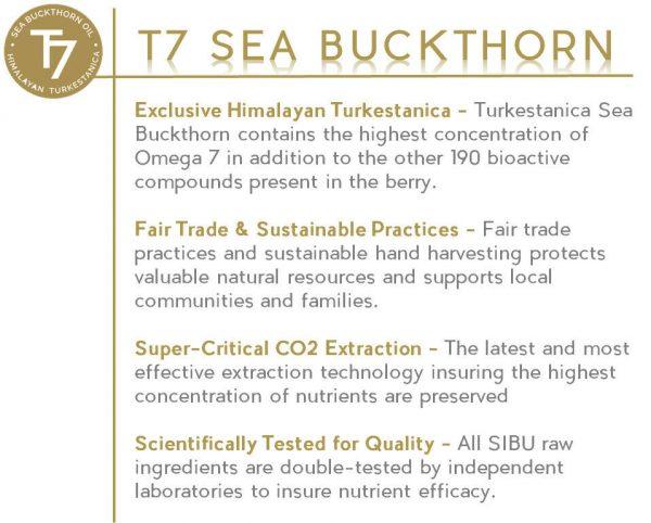SIBU Omega 7 Sea Buckthorn Oil, 180 Soft gels 4