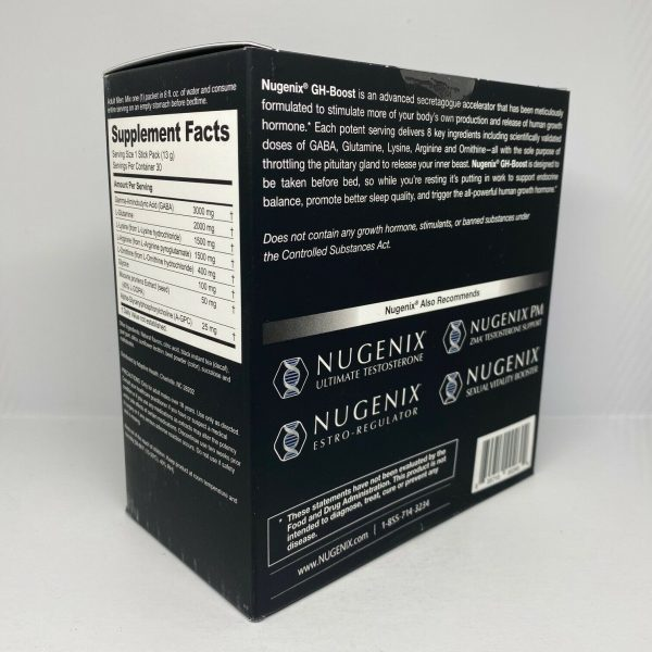 Nugenix GH Boost Tea Berry Blast 30 Pack Free Shipping  3
