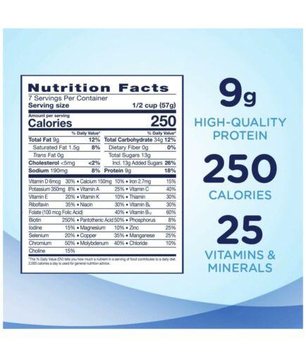 6 Ensure Original Nutrition Shake Powder Meal Replacement VANILLA 14oz  1