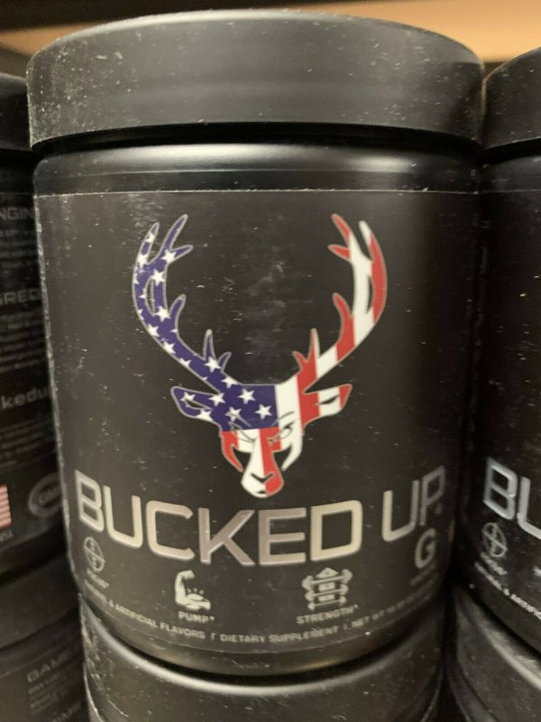 Bucked Up Pre-Workout 30 servings DAS Labs Pick Flavor Fast Free Shipping 6
