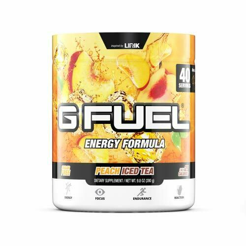 Gamma Labs G Fuel Peach Iced Tea GFuel 40 Servings
