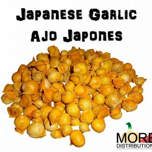 Japanese Garlic (Ajo Japones) Count per bag= 30-60-130 //100% Natural!//