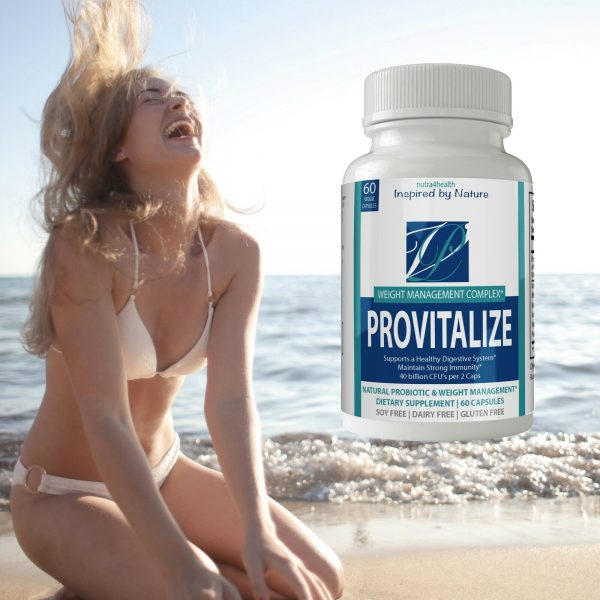 2 Bottle Pack Provitalize Probiotic Weight Management Pills ORIGINAL by n4h 4